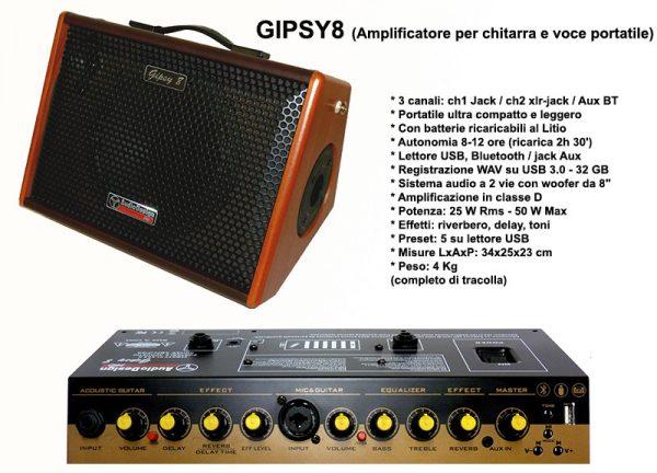 GIPSY8 AudiodesignPro