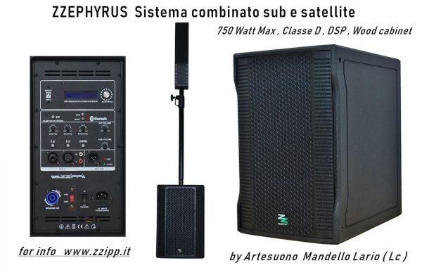 ZZEPHYRUS Kit sub e satellite