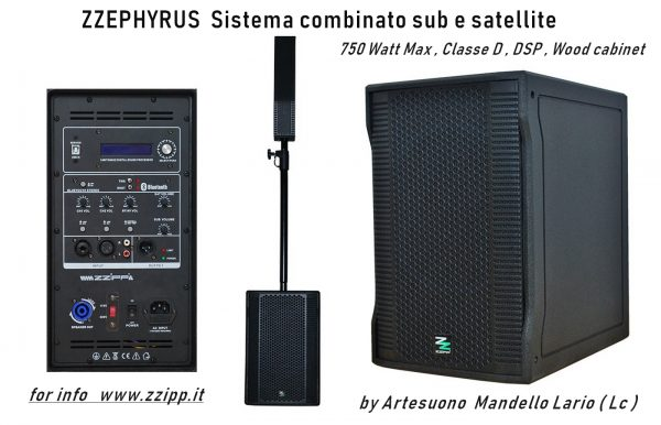 ZZEPHYRUS Kit sub e satellite