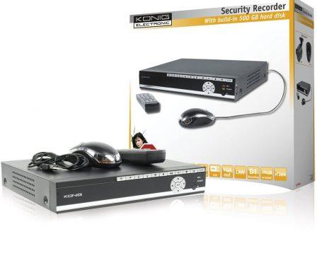 König, Videoregistratore hard disk da 500 GigaByte SEC-DVR504