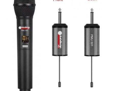 PMU 501 Radiomicrofono AudiodesignPro