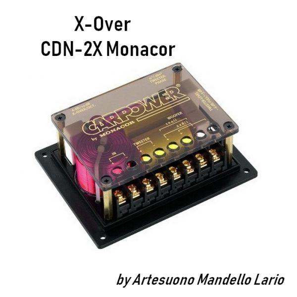 CDN-2X x-over CarPower by Monacor