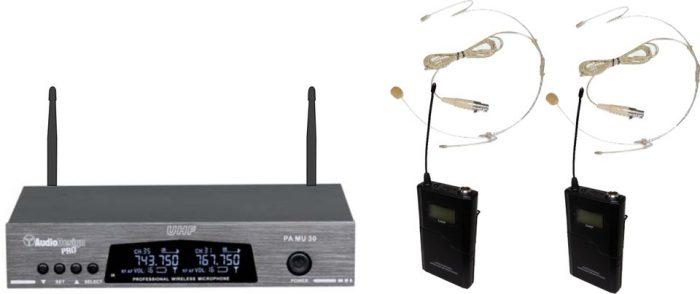 PMU 32 Radiomicrofoni wireless AudiodesignPro