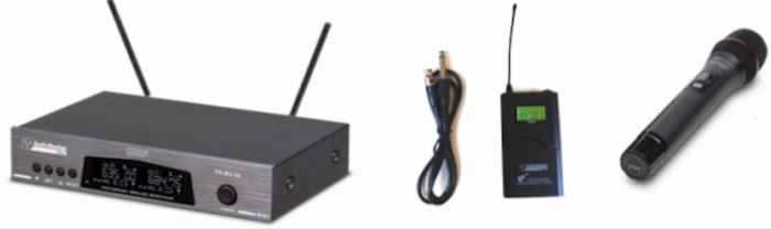 Sistema wireless per voce e chitarra PM31GS AudiodesignPro