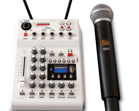 PAMX 2.12 / 2UHF AudiodesignPro