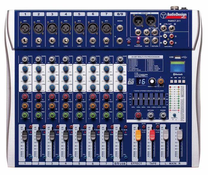 PAMX2.711 Mixer AUDIODESIGN PRO
