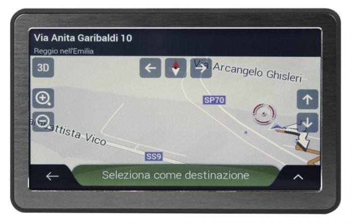 NV005 Navigatore satellitare 7″ portatile con Bluetooth