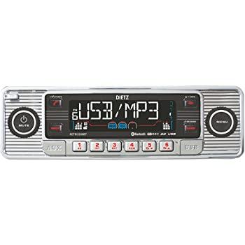 Autoradio Vintage Style RETRO200BT DIETZ